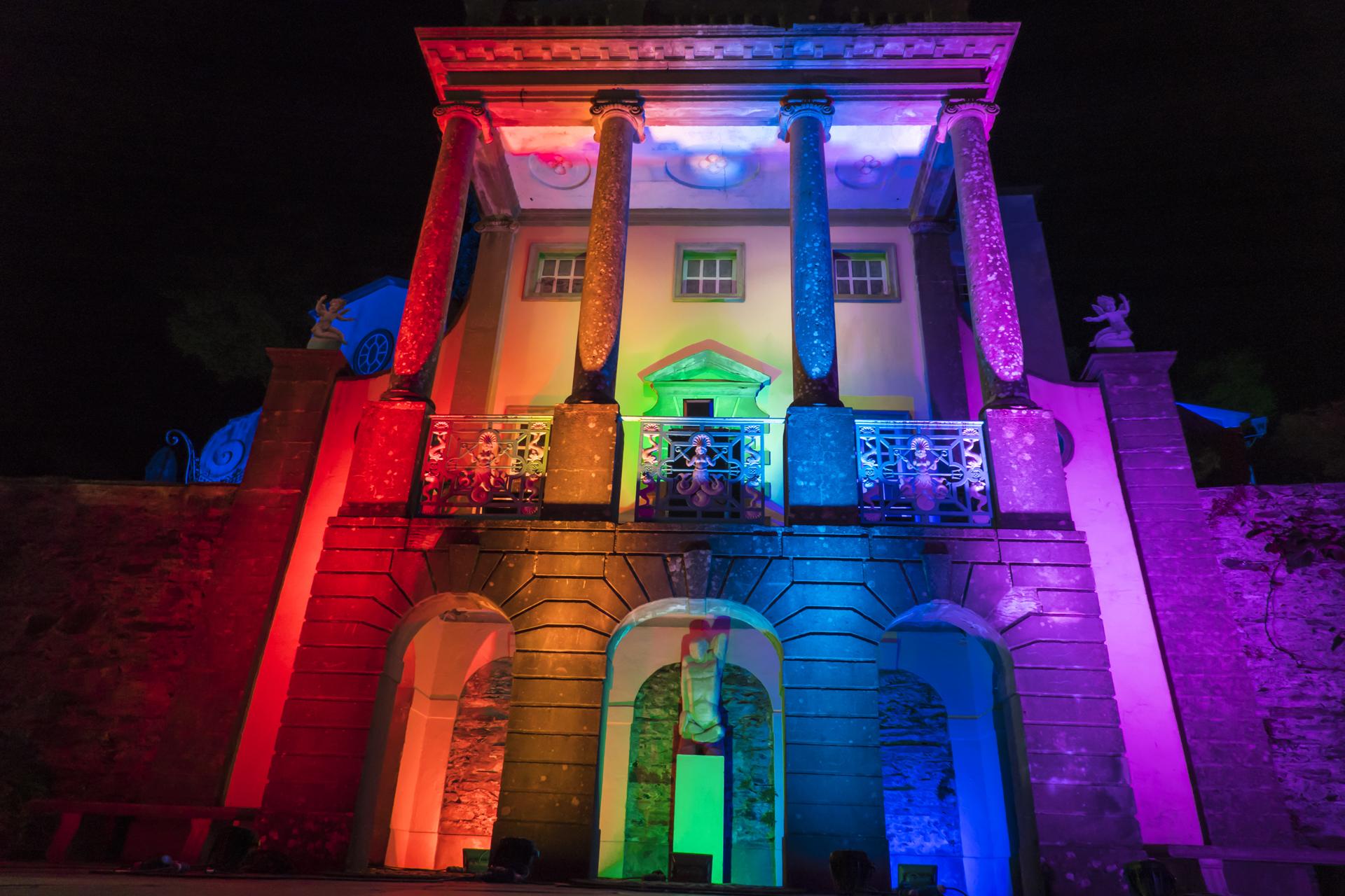 Portmeirion Rainbow Lights Lighting Up NHS